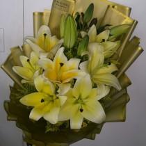 Lilium Yellow Bouquet