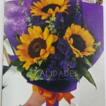 3 Stems Sunflower