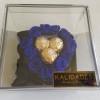 Eternity Heart With Ferrero In Acrylic Blue