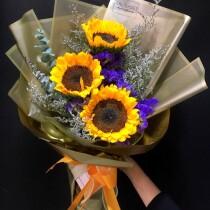 sunflower 3stems