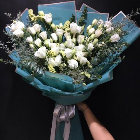 lisianthus white 1bdl